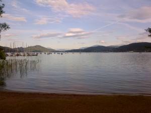 Wörthersee - Calm before the storm